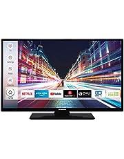Techwood H32T52C 81 Cm (32 Inch) Televisie (Hd-Ready, Triple-Tuner, Smart Tv, Prime Video, Works With Alexa), Zwart