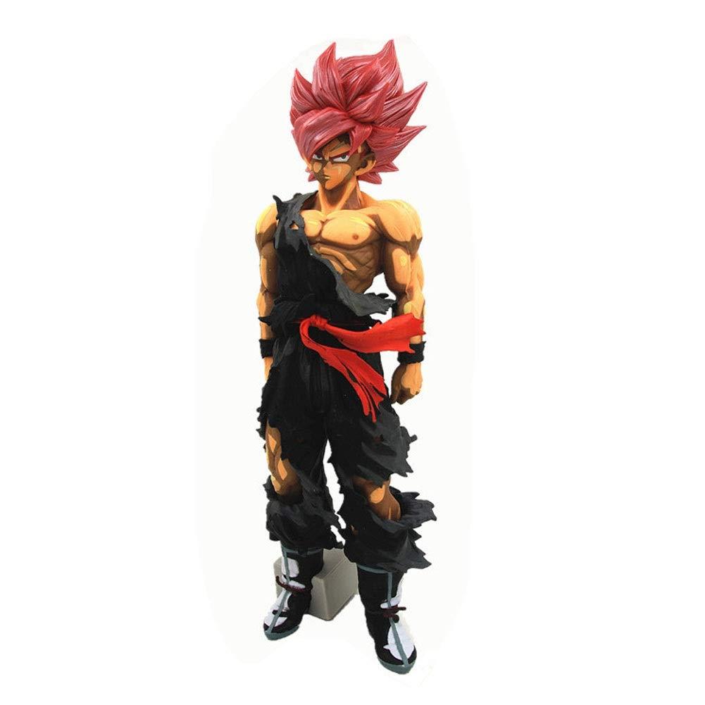 DUDDP Giocattolo Anime Dragon Ball Z Blood of Saiyan Super Saiyan Dio Super Saiyan Son Goku (Vegeta) Action Figure Modello di Anime