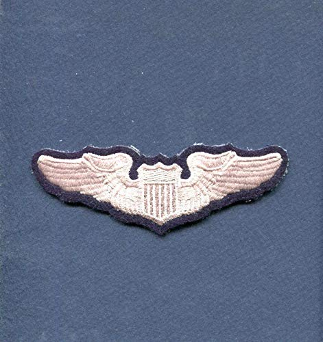 (Embroidered Patch-Patches for Women Man- USAF AIR Force Pilot Wing)