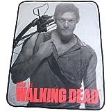"The Walking Dead Daryl Dixon Soft Fleece Throw Blanket 46"" x 60"""