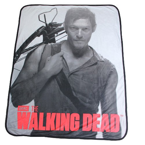 Rabbit Tanaka The Walking Dead Daryl Dixon Soft Fleece Throw