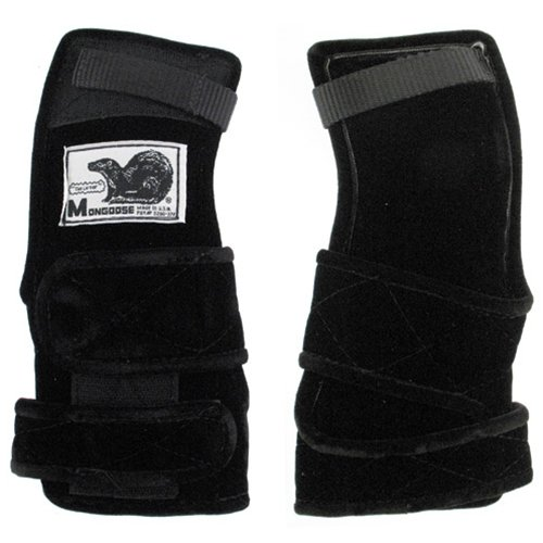 Mongoose Lifter Black Wrist Support- Right Hand (Large) by MONGOOSE PRODUCTS INC