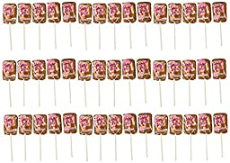 Necco Slap Stix Caramel Pop Banana Swirl, 0.7oz each 36 Pop Box (Packaging May Vary)