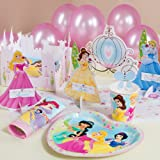 "Disney Princess ""Punch-Out Table Decorations"" : 12 Guests, Health Care Stuffs"