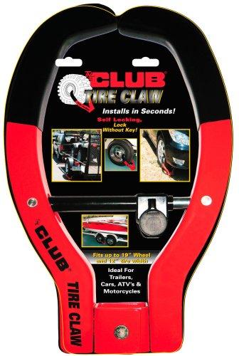 Ganador internacional The Club 491 Tire Claw XL Dispositivo de seguridad