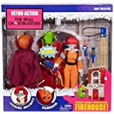 Mattel Retro Action Real Ghostbusters Series 2 Action Figures Janine Melnitz and Samhain, 2-Pack