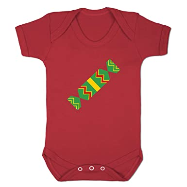Funny Baby Grows Cute Baby Clothes for Baby Boy Baby Girl Bodysuit Vest  Christmas Cracker Emoticon 66a299f6f7b