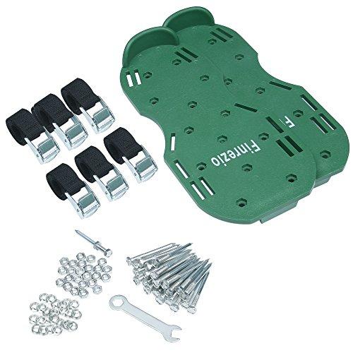 Finrezio Lawn Aerator Shoes,Spikes Lawn Aerator Sandals for Aerating by Finrezio (Image #5)