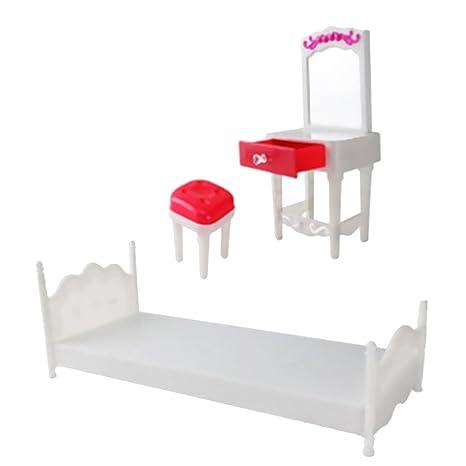 NON Sharplace Muebles en Miniatura Casa de Muñecas Accesorios Ordenador Portátil Cámara Fotografía - Set de