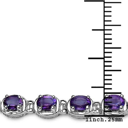 Silvancé - Bracelet femme - Argent 925/1000 - Améthyste véritable - B211A_SSR