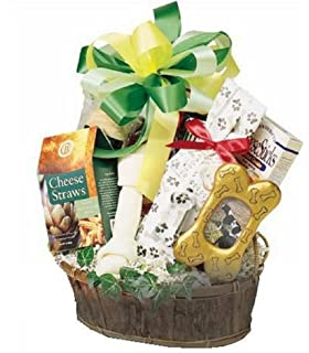 Amazon.com : Warm Wishes for Dog and Owner Gift Basket : Gourmet ...