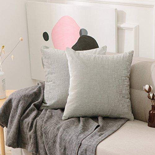Decorative Pillowcase Luxurious Striped Brilliant