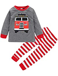 Newborn Girls Boys Clothes Baby Romper Outfit 2Pcs Pants Set Long Sleeve Winter Clothing