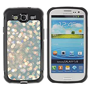 Jordan Colourful Shop@ Snow Diamonds Glitter Winter Sun Rugged hybrid Protection Impact Case Cover For S3 Case ,I9300 Case Cover ,I9308 case ,Leather for S3 ,S3 Leather Cover Case