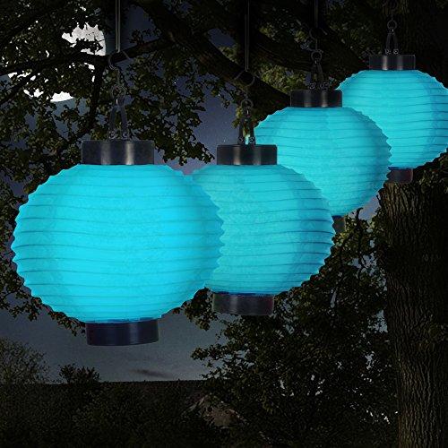 Solar Garden Lights Chinese Lanterns in US - 5