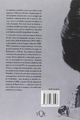 La cara oculta de la belleza: Helena Rubinstein, LOréal y la historia turbia de la cosmética Tiempo de Memoria: Amazon.es: Brandon, Ruth, Meseguer, Purificación: Libros