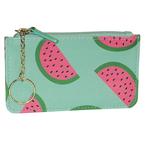 Coin Case with Key Ring Fruit Punch Pik-Me-Ups Watermelon