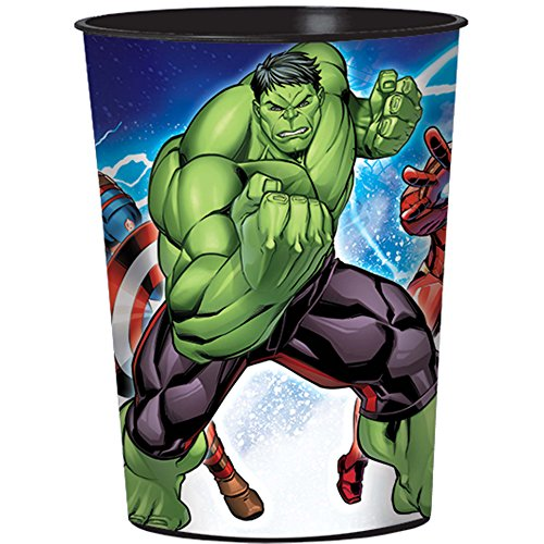 Marvel Avengers 16 oz Plastic Party Cup, Party ()