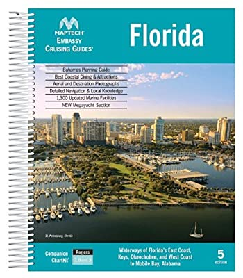 Maptech CGFL-05 Embassy Cruising Guide Florida by Maptech