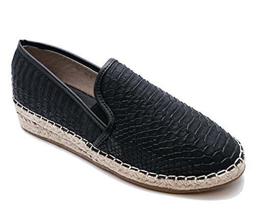 Pumps 8 Flat On HeelzSoHigh Ladies Black Sizes Espadrille Slip Shoes Plimsoll 3 Casual Loafers xWxUzZnBO