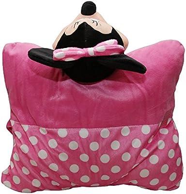 Amazon.com: Disney – Minnie Mouse 3d almohada con cara: Home ...