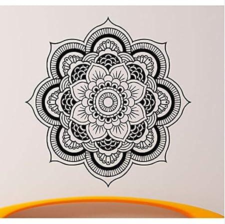 Arte Curvado Etiqueta de La Pared Calcomanías Mandala Yoga ...