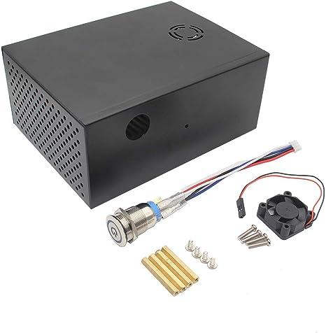 X830 - Caja de almacenamiento para disco duro SATA de 3,5 pulgadas (metal, para Raspberry Pi): Amazon.es: Bricolaje y herramientas