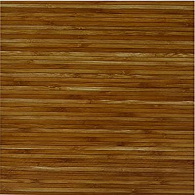 40pcs of Wood Bamboo Vinyl Tile Adhesive Kitchen Flooring - 12 x 12 inches