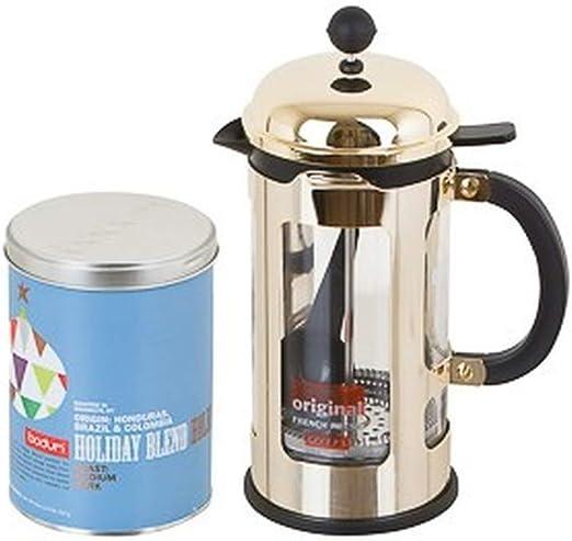 Bodum Coffee Time Cafetera de émbolo (8 tazas 1,00 l y X-Mas ...