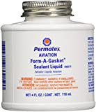 Permatex 80019 Aviation Form-A-Gasket No. 3 Sealant, 4 oz.