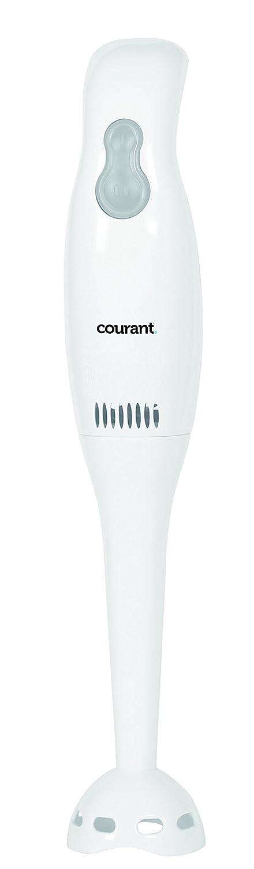 Courant CHB-2001 Hand Blender with 200W Power Immersion Blender, White
