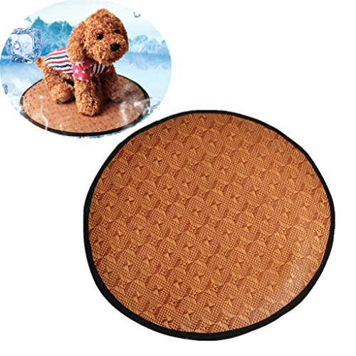 Bedding Crib Ice (SUJING Pet Dog Cooling Mat Self Cooling Cold Gel Mat Pad Chilly Ice Cooler Sleeping Bed Pet Mat (large))