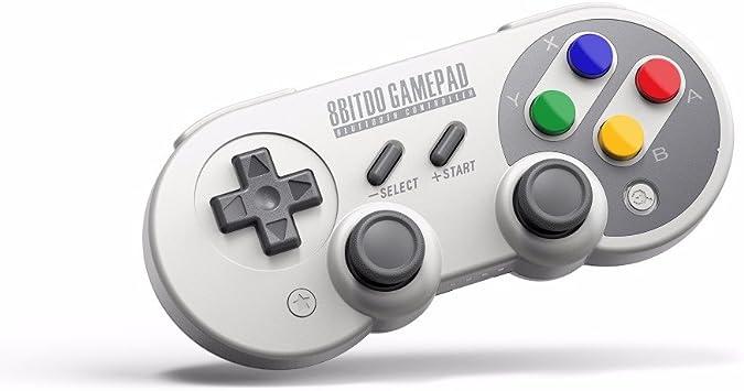 RunSnail Mando para Switch PC, 8Bitdo SF30 Pro Inalámbrico Gamepad ...
