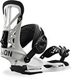 Union Flite Pro Snowboard Bindings White Mens Sz L (10+)