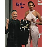 fan products of A'JA WILSON signed (SOUTH CAROLINA GAMECOCKS) 8X10 WNBA Las Vegas Aces W/COA #3 - Autographed College Photos