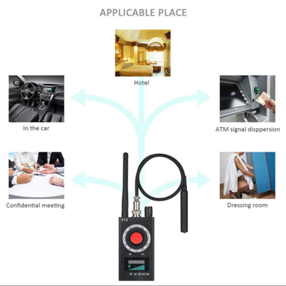 Detector de Insectos inalámbrico Anti espía RF señal para cámara Oculta Lente láser gsm Dispositivo de Escucha Radar escáner de Radio Alarma de señal ...