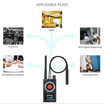 Detector de Insectos inalámbrico Anti espía RF señal para cámara Oculta Lente láser gsm Dispositivo de