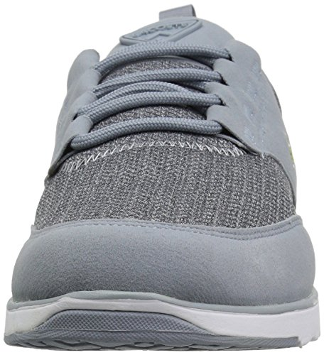 L Sneaker Fabric Grey Ight Brown Men's Lacoste pAnw6aq5x