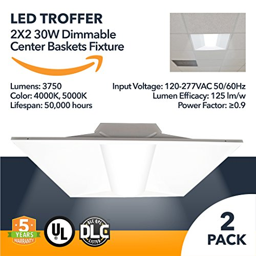 Led Troffer Light Fixture in US - 7