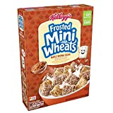 Cheap Kellogg's Breakfast Cereal, Frosted Mini-Wheats, Maple Brown Sugar, Low Fat, Excellent Source of Fiber, 15.5 oz Box