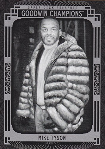 2015 GOODWIN CHAMPIONS MIKE TYSON CARD BOXING