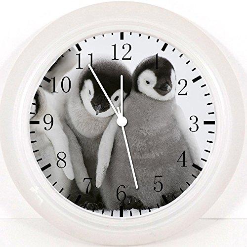 New Cute Baby Penguin Wall Clock 10