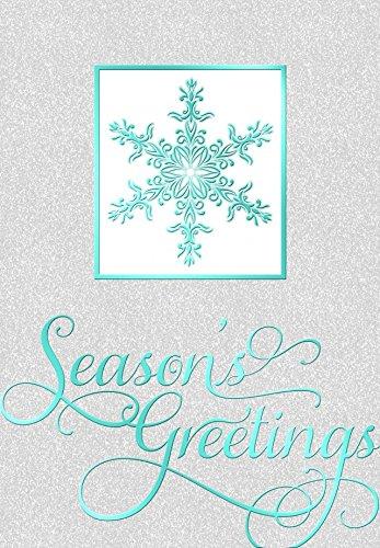 Amazon 18 count foil greeting cards envelopes luxury 18 count foil greeting cards envelopes luxury christmas favorites i sparkle snowflake 55 m4hsunfo