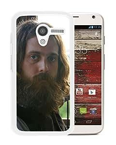 Beautiful Designed Cover Case With Iron And Wine Beard Window Light Hand (2) For Motorola Moto X Phone Case