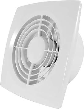 Ventilador extractor de ventilación para pared o techo de 15 cm de ...