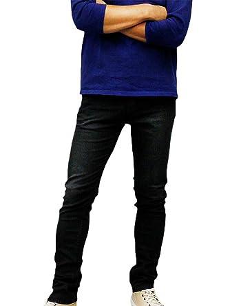 c16ce970 Denham Men's Bolt DBS Skinny Fit Stretch Denim Jeans Black 32W x 32L ...