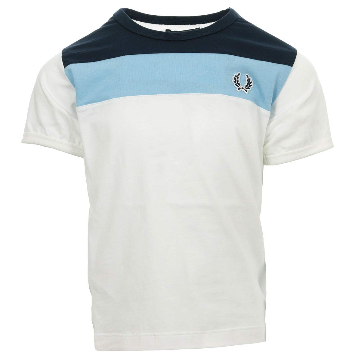 Fred Perry Chest Panel T-Shirt Snow White, Camiseta - 5 ANS ...