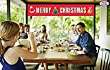 Merry Christmas Banner | Large Xmas Sign | Huge