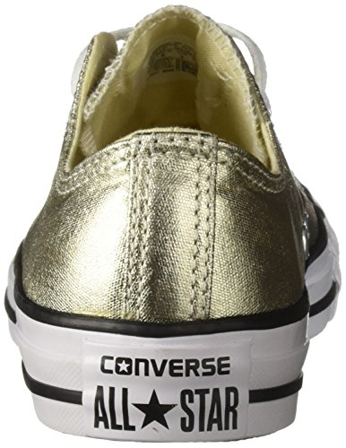Converse unisex Black Hi White Star Zapatillas Light Gold All rqRrwzO