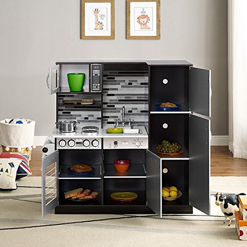 Naomi Home Kids Gourmet Kitchen Set Espresso Available In The Uae